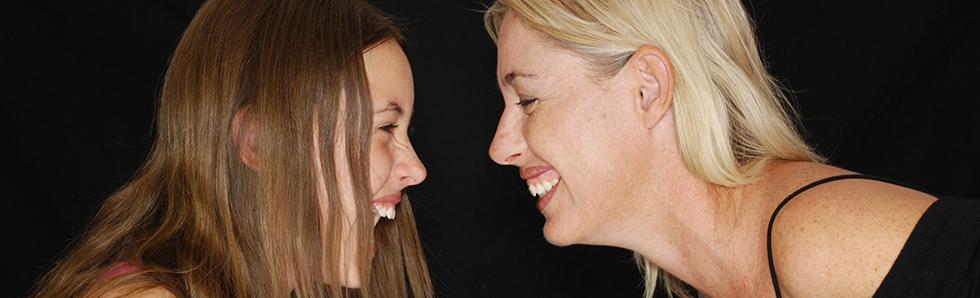 Le rire est communicatif, un vrai vecteur de bonheur!