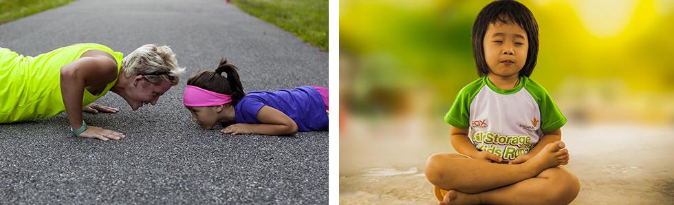 Initiez vos enfants à pratiquer une activité sportive dès leur plus jeune âge