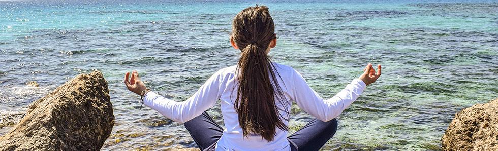 La méditation est très recommandée pour les enfants