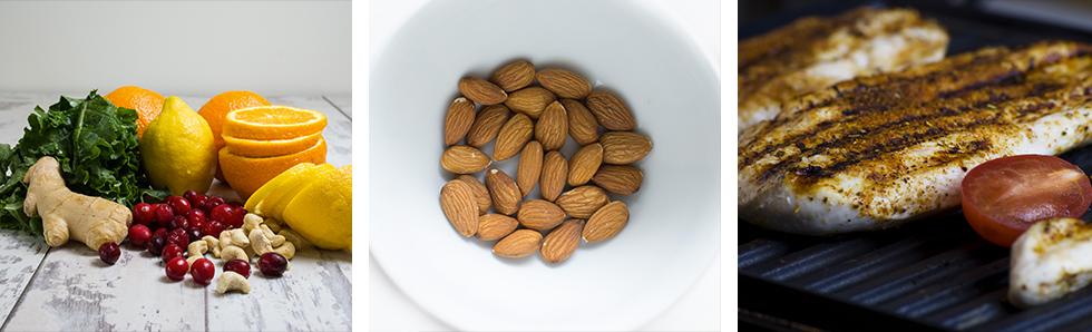 Les aliments anti-inflammatoires se divisent entre solides et liquides