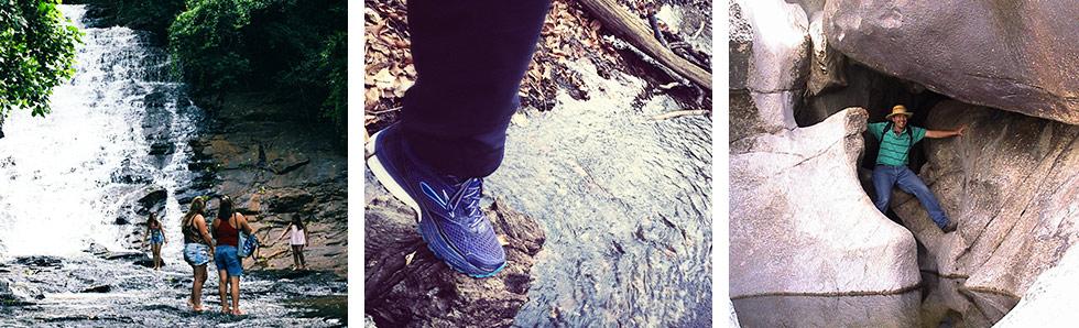 Les blessures à la cheville sont courantes lors de randonnée