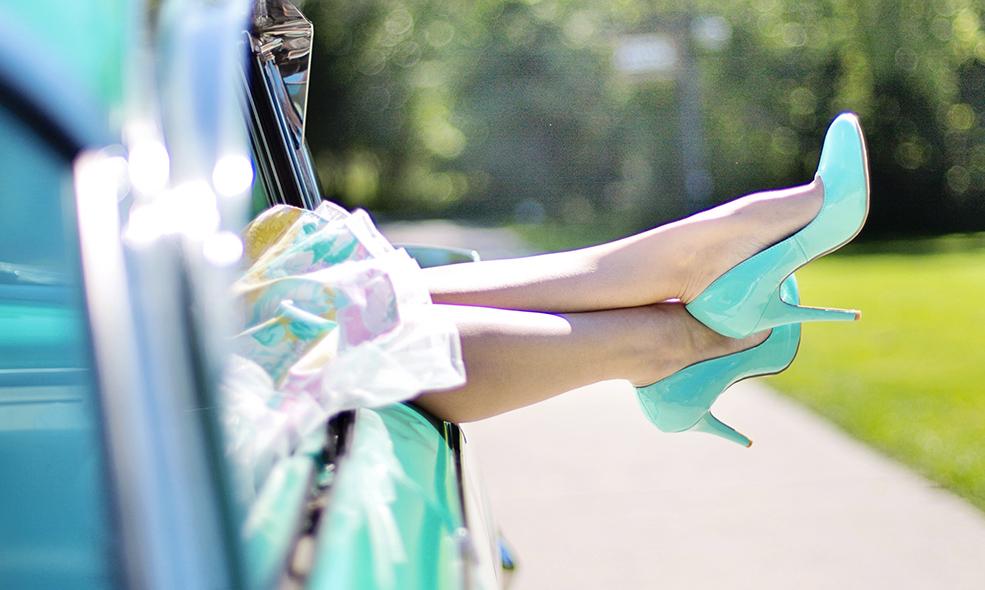 Les jambes légères, le secret du bien-être estival