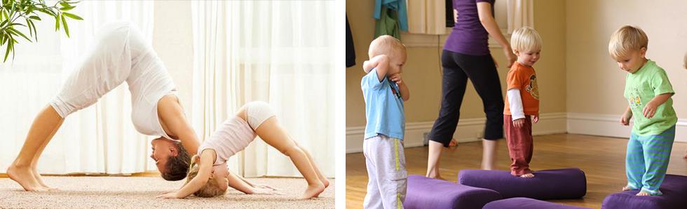 La pratique du yoga pour enfants est une bonne activité à faire en famille !